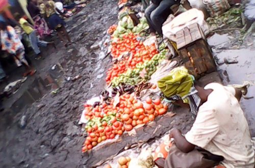 Article : Le retour de la pluie, les rivières de kinshasa cimetière à bébés et poubelles publiques