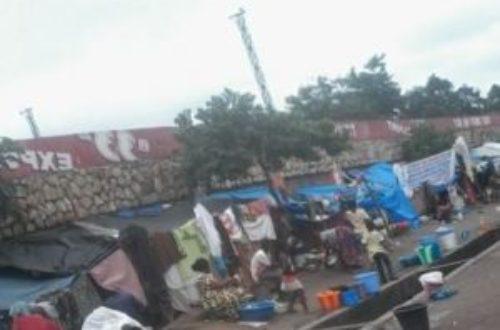 Article : Les expulsés de Brazzaville, une vie de sans-abri chez soi!